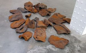 Iron Tree Trunk Fragments